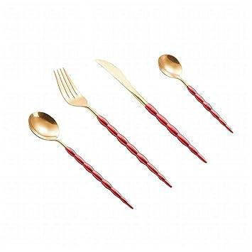 Karidesh Cuchillos de Acero Inoxidable 304, sección de bambú ...