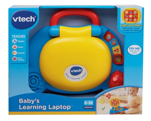 Vtech Baby S Learning Laptop Blue Buy Online In Uae