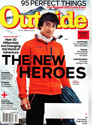 Outside Magazine December 2016   The New Heroes