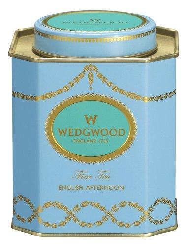 English Tea Caddy - Wedgwood Everyday Luxury English Afternoon Caddy, 125g, Blue