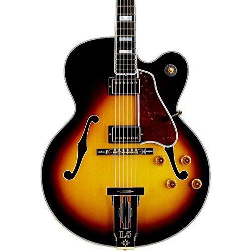 gibson custom shop l 5 ct hslcvsgh1 hollow body electric guitar vintage sunburst buy online. Black Bedroom Furniture Sets. Home Design Ideas