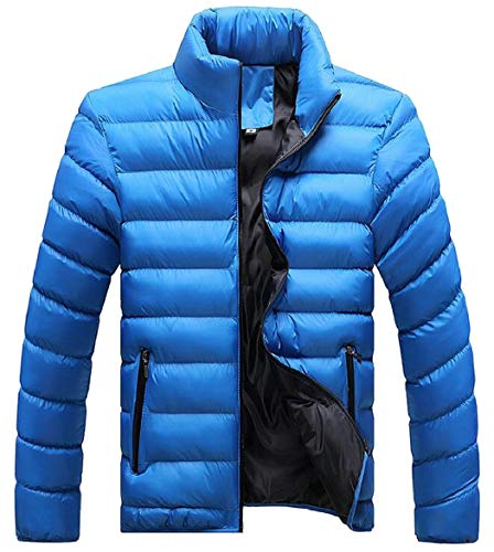 Down Puffer Casual Sleeve 4 Men's Lightweight Packable security Long Jacket qxta7I6
