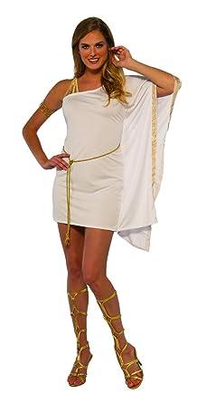 05e0ff3630b9c Amazon.com: Women's Ancient Greek Mythology Goddess Toga Dress ...