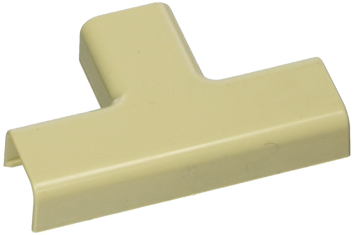 C2G/Cables to Go 13372 Tyton Raceway Tee Cover, Ivory (.75 Inch)