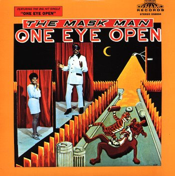 Image result for one eye open maskman and the agents images