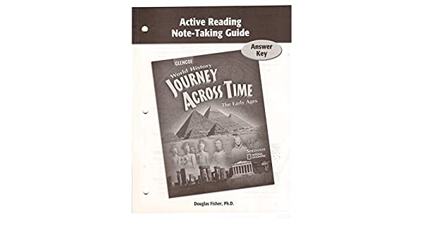 active reading note taking guide answer key spielvogel douglas rh amazon com science notebook active reading note-taking guide answers grade 7 active reading note-taking guide ancient civilizations answers