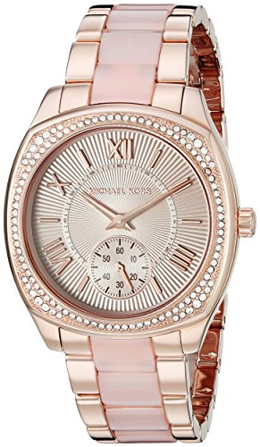Michael Kors Women's Bryn Rose Gold-Tone Watch MK6135