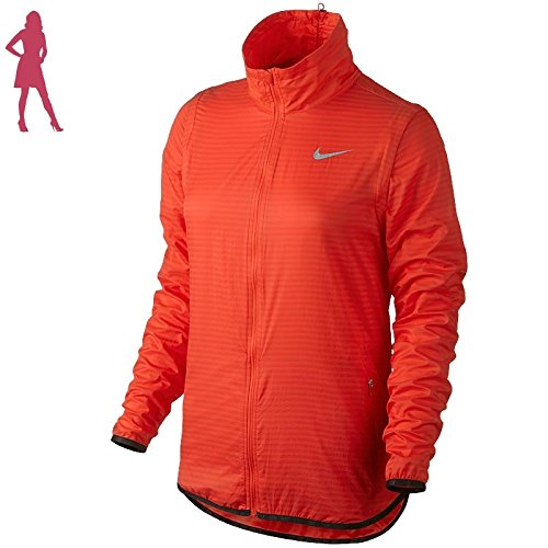 Nike Golf Womens Flight Convertible Jacket (Light Crimson/Metallic Silver)