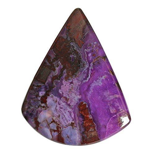 60 Cts Unique Designer Natural Dark Purple South African Sugilite Gemstone For Making Jewelry, Pendant Cabochon AG-5523 by ABC Jewelry Mart