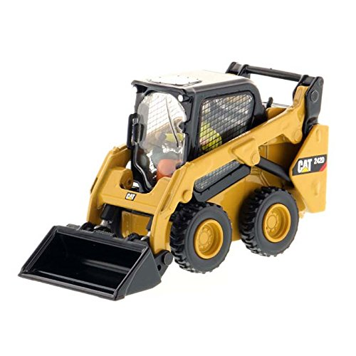 Caterpillar Skid Steer Loaders - Diecast Masters 1/50 Caterpillar 242D Compact Skid Steer Loader - High Line Series