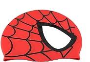 Touca Silicone Touquinha Infantil Peixinho Homem Aranha Spiderman Esporte Natação Piscina Nadar Menino Menina Promoção Liquid