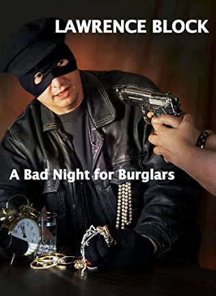book cover of A Bad Night for Burglars