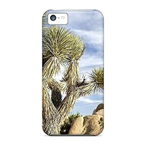 Hill-hill Case Cover Protector Specially Made For Iphone 5c Desert Rocks Cactus