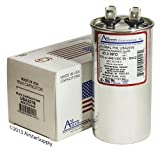 Mars 12248 Replacement - 45 uf/Mfd 370/440 VAC AmRad Round Universal Capacitor, Made in The U.S.A.