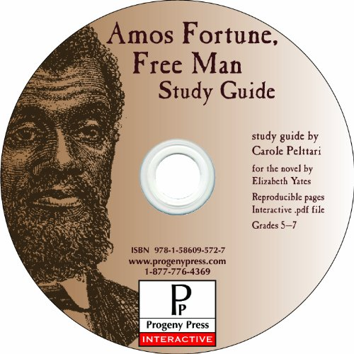 Amos Fortune Free Man Study Guide CD-ROM