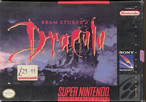 Dracula Nintendo Super NES