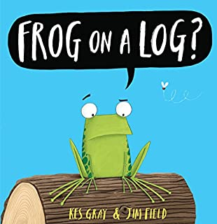 Book Cover: Frog on a log
