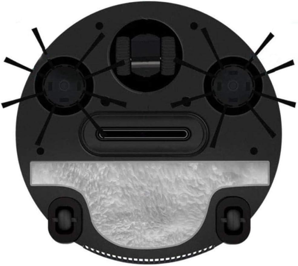 GSWF_OOEFC GENERICS Robot de Balayage Charge Domestique Intelligente Balayage et Aspiration Vadrouille Trois-en-Un Balayage et vadrouille Automatique de la poussière-Noir Noir