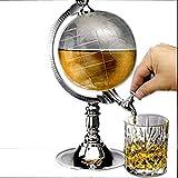 Globe Shaped Bar Butler Dispenser 1L Capacity