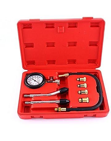 Elegantamazing - Medidor de presión para Motor de Gasolina (Cilindro de compresión automática, Herramienta