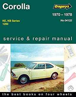buy toyota corolla 1200cc 1970 76 workshop manual gregory s service rh amazon in gregorys workshop manual toyota hilux gregorys workshop manual toyota hilux
