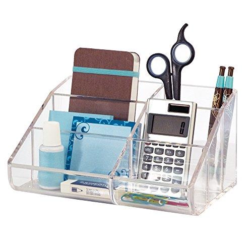 p Organizer (Plastic Desk Organizer)