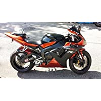 Orange Black Complete Fairing Bodywork Injection for 2002-2003 Yamaha YZF R1