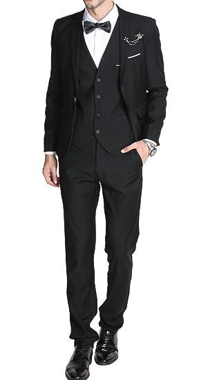 Mogu Mens Suits Slim Fit 3 Piece At Amazon Men S Clothing Store