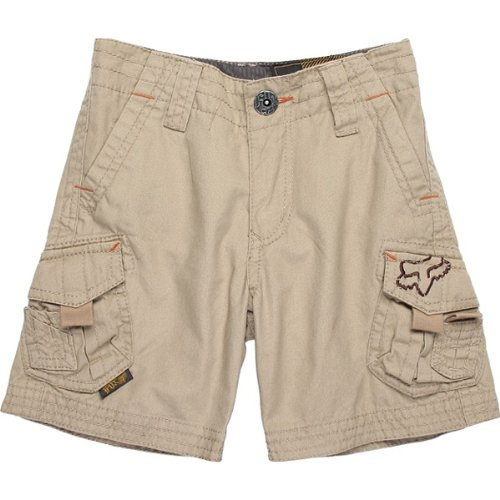 Fox Racing Slambozo Cargo Kids Short Sports Wear Pants - Dark Khaki / Size 6