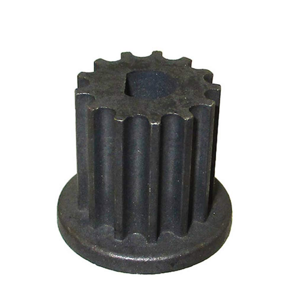 Race-Guy 13 Tooth Gear Pinion Sprocket Belt Pulley with One Flat Side Mount for Scooter Electric Motor