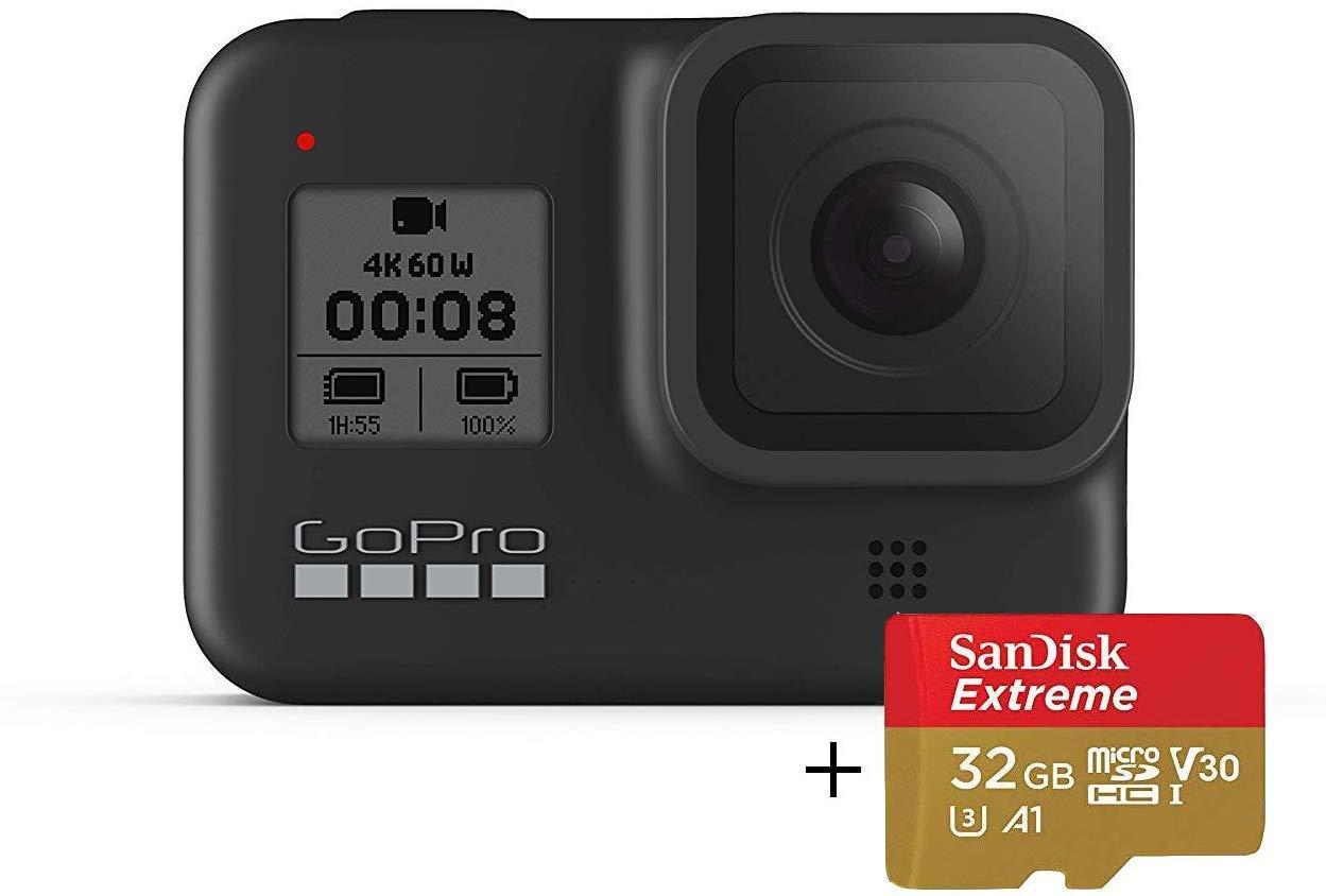 GoPro HERO8 Negro con Tarjeta de Memoria SanDisk 32G, cámara de ...