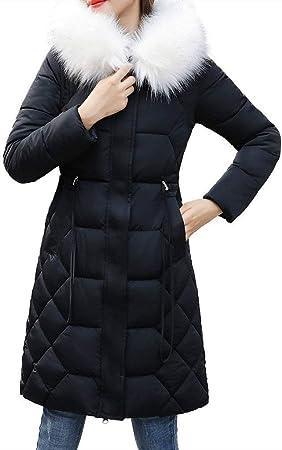 LianMengMVP veste femme blouson hiver chaud Manteau à capuchon Chaude et épaisse pour femmes Manteaux Élégante Cordon de serrage Slim Fausse Fourrure