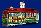 Old World Christmas Cable Car Ornament