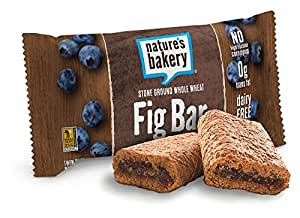 Nature's Bakery Whole Wheat Fig Bar, Blueberry, 12 Count Box, 24 oz