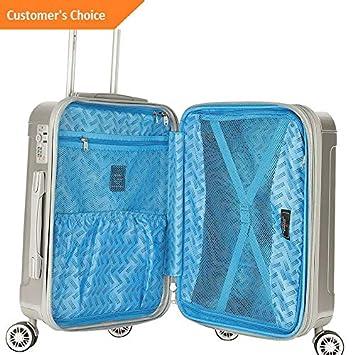 Amazon.com | Sandover Gabbiano Genova 3 Piece Expandable Hardside Spinner gage Set NEW | Model LGGG - 1510 | | Luggage Sets