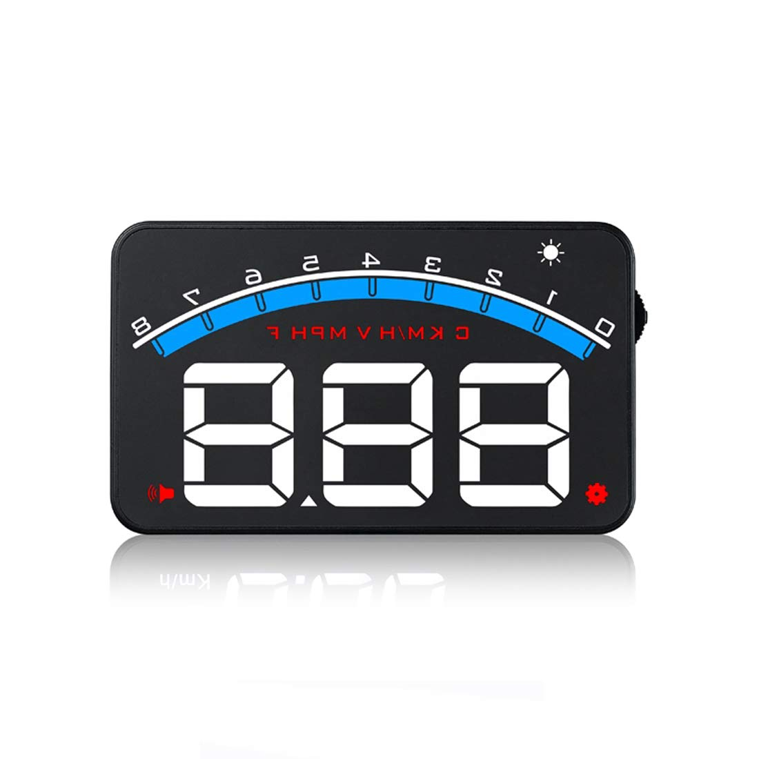 DONGMAO M6 Head Up 3, 5-Zoll-Windschutzscheibenprojektor OBD2 EUOBD Autofahrdatenanzeige Geschwindigkeit RPM Wassertemperatur HUD-Anzeige HONGKANG DONGMAO CO LTD