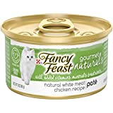 Purina Fancy Feast Gourmet Naturals Grain Free Pate White Meat Chicken Recipe Adult Wet Cat Food - (12) 3 oz. Cans