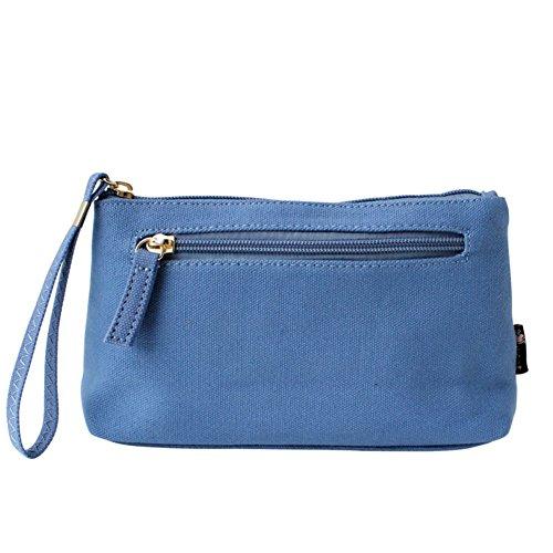 bolsa de lona Sra./tendencia fresca de embrague de la manera ocasional
