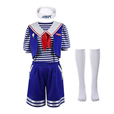 Cicik Robin Scoops Ahoy Halloween Cosplay Traje Azul Marino ...