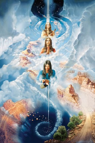 HUGE LAMINATED / ENCAPSULATED Navajo Creation Myth Indian Spiritual POSTER measures 36 x 24 inches (91.5 x 61cm) (Best Indian Actress Pics)
