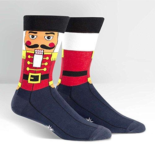 Man Nutcracker - Sock It to Me, Men's Crew: Nutcracker