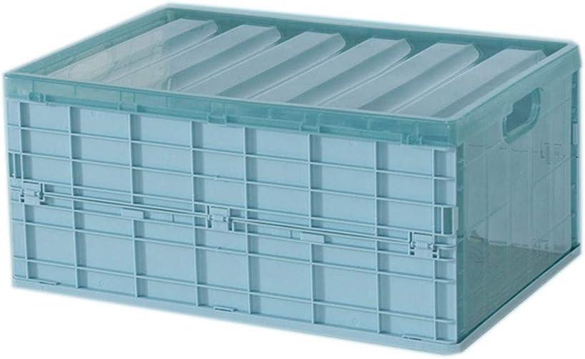 Hotaluyt Plegable de plástico Caja de Inicio Garaje Almacén de Escritorio Plegable del Caso de la Ropa Interior Armario Organizador: Amazon.es: Hogar