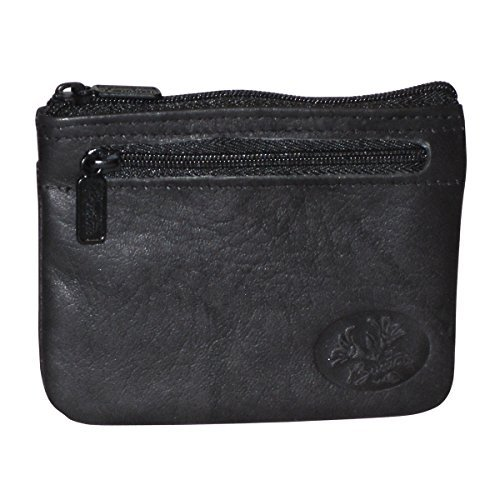 Buxton Heiress Pik-Me-Up I.D. Coin/Card Case, Black