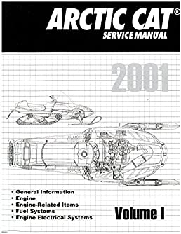 2256 347 2001 arctic cat snowmobile service repair manual volume 1 rh amazon com 2001 arctic cat 300 4x4 service manual 2001 arctic cat snowmobile service manual