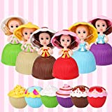 Mini Beautiful Cake Doll Toy Surprise Cupcake Princess Doll Toys for Children Kid Transformed Scented Girls Funny Game Gift (12PCS)