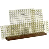 Omnigrid Wooden Ruler Rack