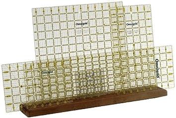 Amazon.com: Omnigrid Wooden Ruler Rack : quilt ruler holder - Adamdwight.com