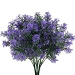 NAHUAA-4Pcs-Artificial-Plastic-Plant-Fake-Greenery-Shrubs-Faux-Bushes-Bundles-Indoor-Outdoor-Home-Kitchen-Office-Windowsill-Table-Centerpieces-Arrangements-Spring-Decorations-Spray-in-Purple
