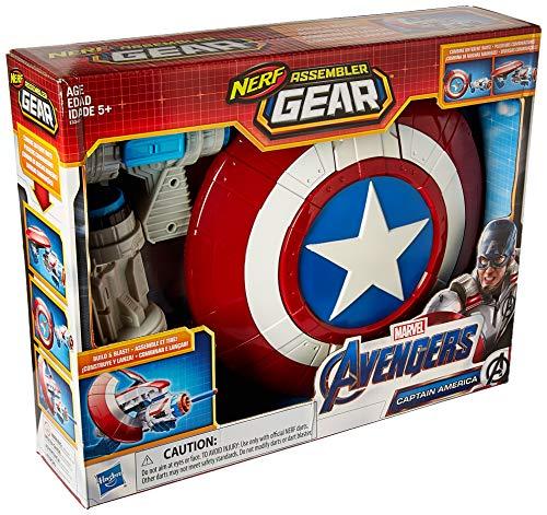 NERF Marvel Avengers: Endgame Captain America Assembler Gear Blaster