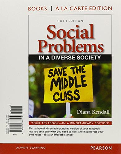 A in diverse pdf social problems society